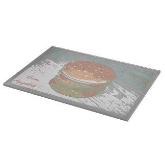 Planches à découper en verre Burger