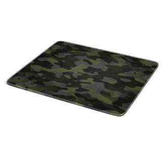 Planches à découper en verre Camouflage