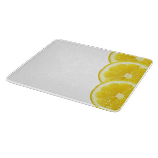 Planches à découper en verre Citrons