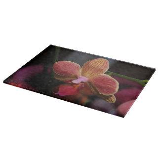 Planches à découper en verre Orchidée