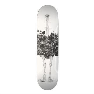 Planches À Roulettes Autruche florale