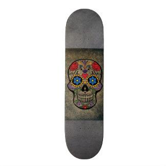 Planches à roulettes gothiques d'art de crâne
