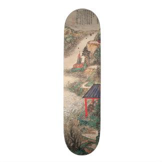 Planches à roulettes japonaises d'art