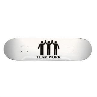 Planches À Roulettes Travail d'équipe
