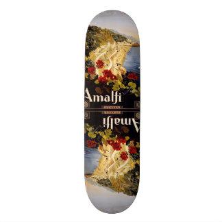 Planches à roulettes vintages d'Amalfi Italie de