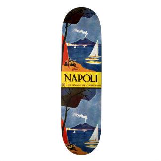 Planches à roulettes vintages de Napoli Naples