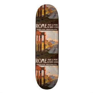 Planches à roulettes vintages de Rome Italie de