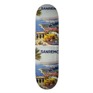 Planches à roulettes vintages de Sanremo Italie de