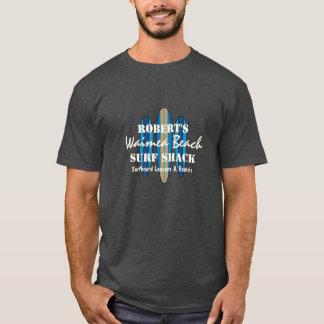 Planches de surf de Hawaïen de monogramme de T-shirt