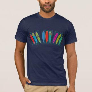 Planches de surf vintages t-shirt