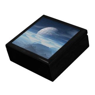 Planète étrangère de Tranus avec la boîte-cadeau Grande Boîte À Bijoux Carrée