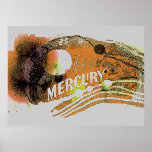 Planète Mercury #2 Posters