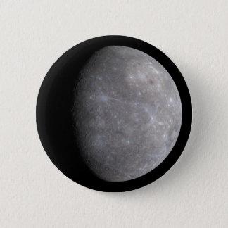 Planète Mercury dans l'espace Badge