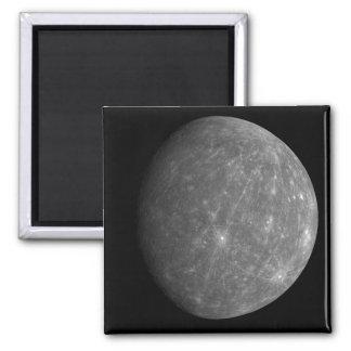 Planète Mercury Magnet Carré