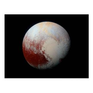 Planète naine Pluton de carte postale par la NASA