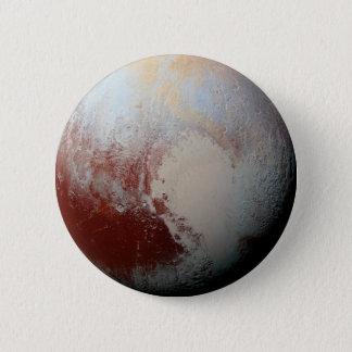 Planète naine Pluton par la photo 2015 de la NASA Badge