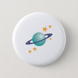 Planète Saturn Badges