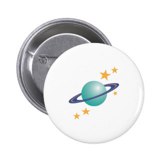 Planète Saturn Badges
