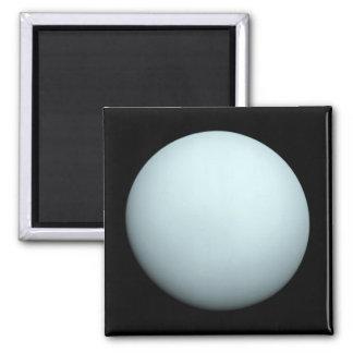 Planète Uranus Magnet Carré
