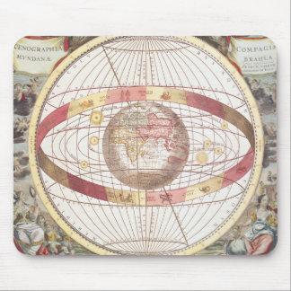 Planisphere, de 'atlas Coelestis Tapis De Souris