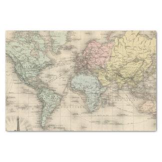 Planisphere Papier Mousseline