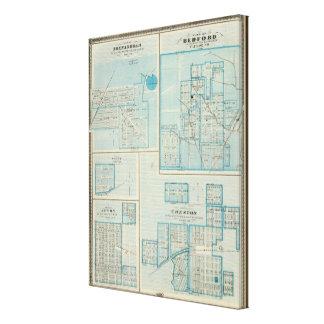 Plans de Shenandoah, Bedford Toiles