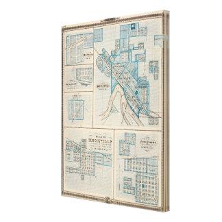 Plans d'Ottumwa, Russell, Scranton Toiles