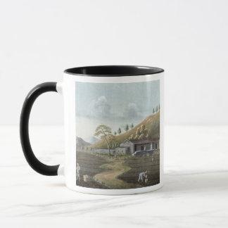 Plantation de thé (la semaine sur le papier) mug