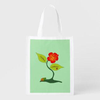 Plante et fleur sac d'épicerie