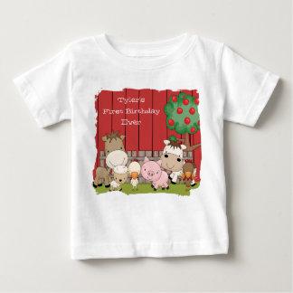 Plante grimpante de nourrisson d'amis de t-shirt pour bébé
