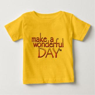 Plante grimpante infantile (jaune) t-shirt pour bébé
