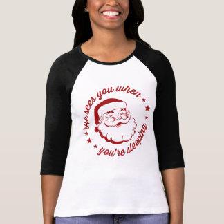Plante grimpante Père Noël T-shirt