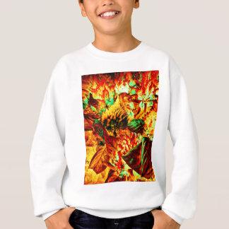 plante sur le feu sweatshirt