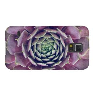 Plantes violets coques galaxy s5