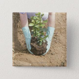 Plantez un arbre le jour de la terre badge