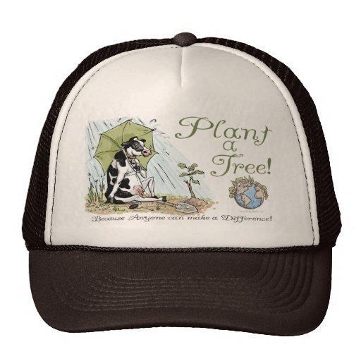 Plantez une vitesse de vache à jour de la terre d' casquettes