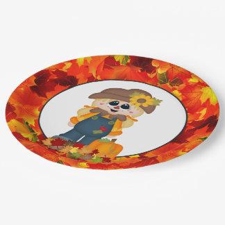 Plaque à papier de partie saisonnière assiettes en papier