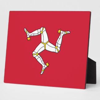 Plaque de drapeau d'île de Man