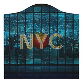 Plaque De Porte PIÈCE EN T New York City