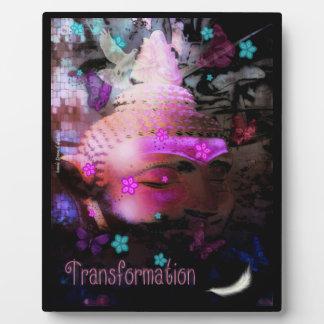Plaque d'image de Bouddha de transformation
