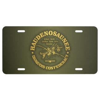 Plaque D'immatriculation Iroquois Confederacy (Haudenosaunee)