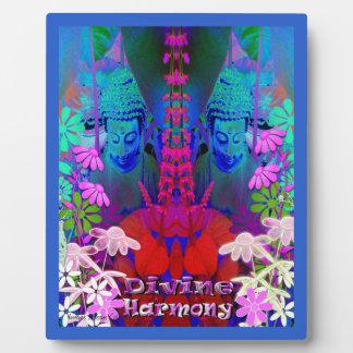 Plaque divine d'image de Bouddha d'harmonie
