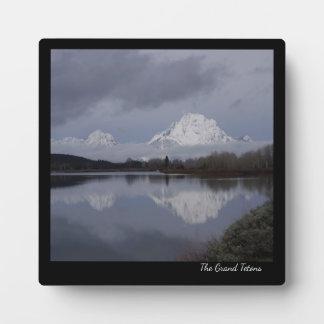 Plaque grande de Teton