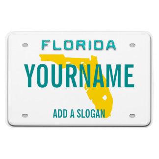 Plaque minéralogique de la Floride (personnalisée) Magnet Flexible