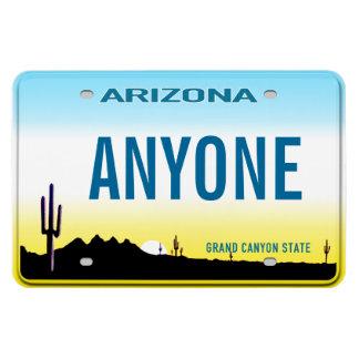 Plaque minéralogique de l'Arizona (personnalisée) Magnet Flexible