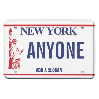 Plaque minéralogique de New York (personnalisée) Magnets En Vinyle