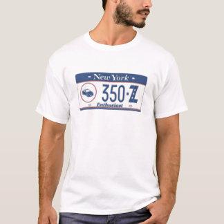 Plaque minéralogique d'enthousiaste de New York T-shirt