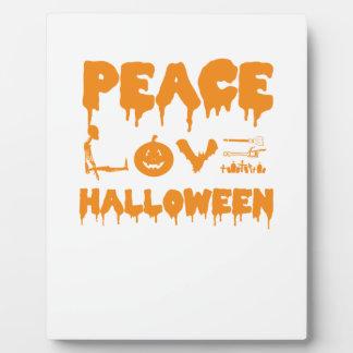 Plaque Photo Aimez le T-shirt de costume de Halloween avec le