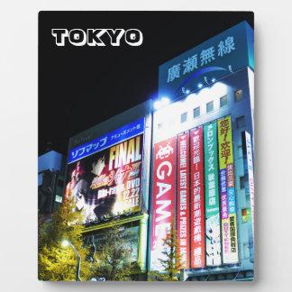 Plaque Photo Akihabara (ville électrique) à Tokyo, Japon