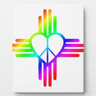 Plaque Photo Amour du Nouveau Mexique Zia